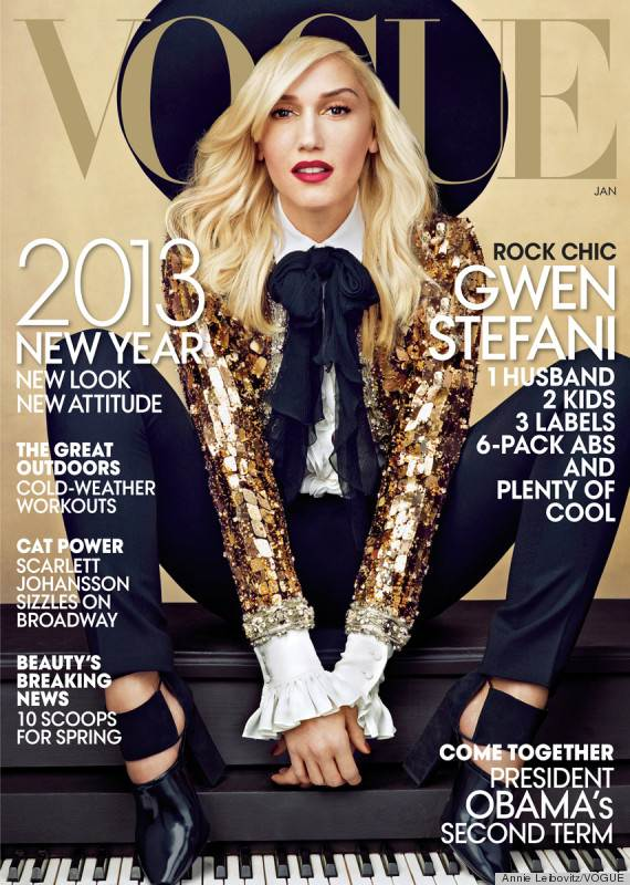 Vogue cover january 2013